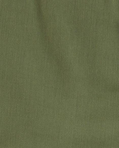 2-Piece Sateen Button-Front Top & Floral Legging Set