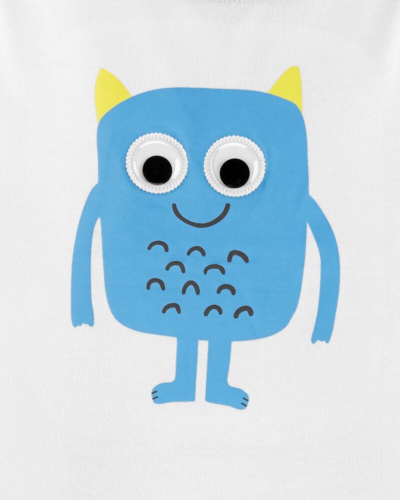 3-Piece Monster Poly PJs, , hi-res