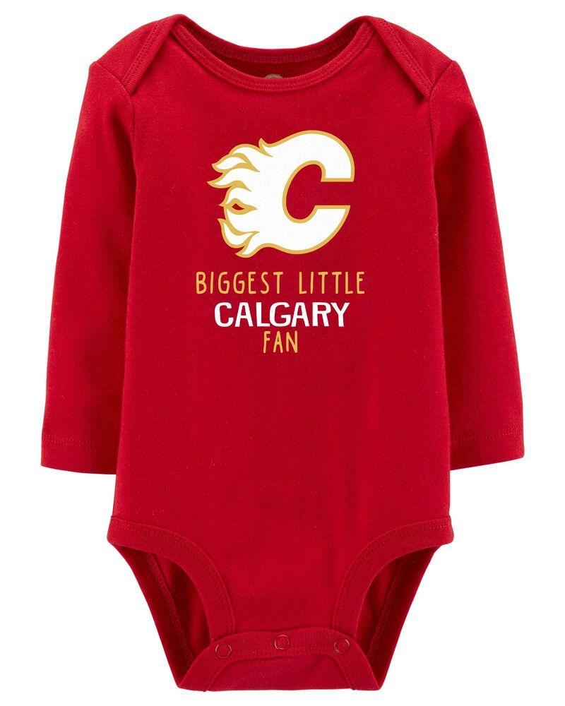 NHL Calgary Flames Bodysuit, , hi-res