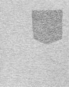 Raglan Thermal Pocket Tee , , hi-res