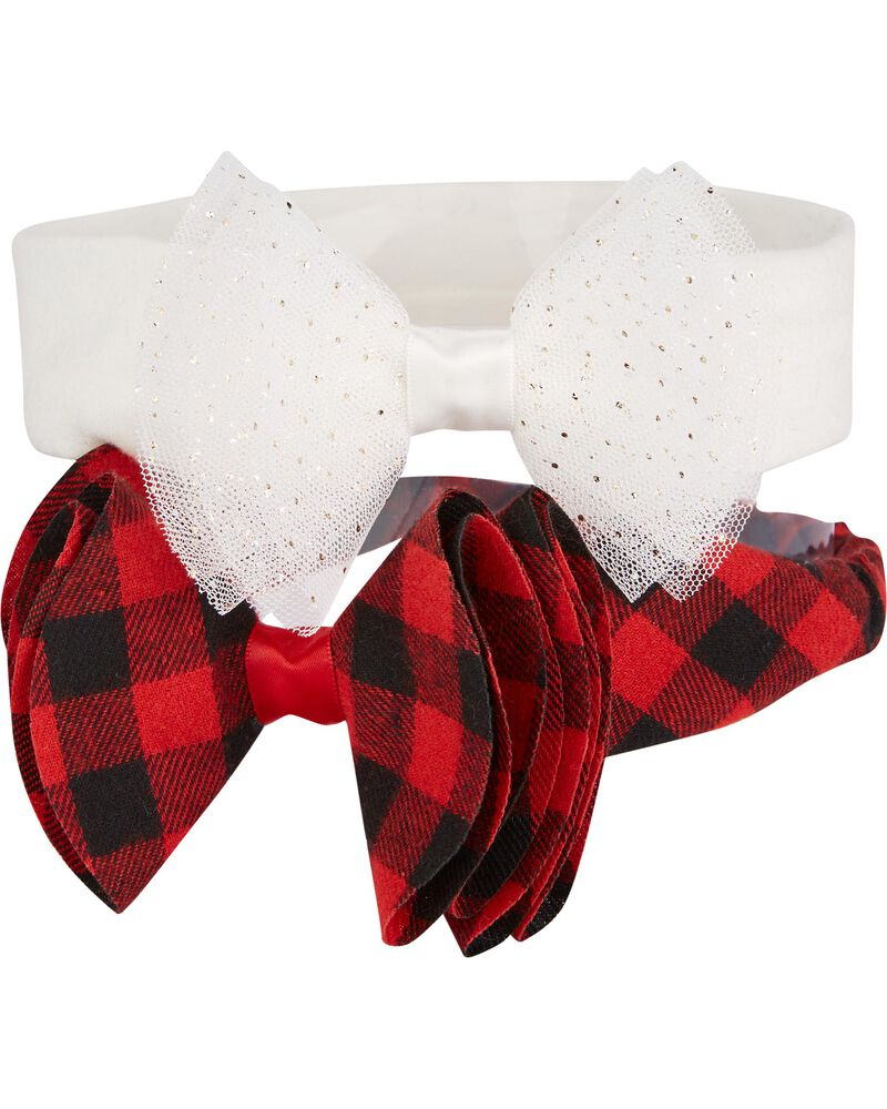 2-Pack Holiday Headwraps, , hi-res