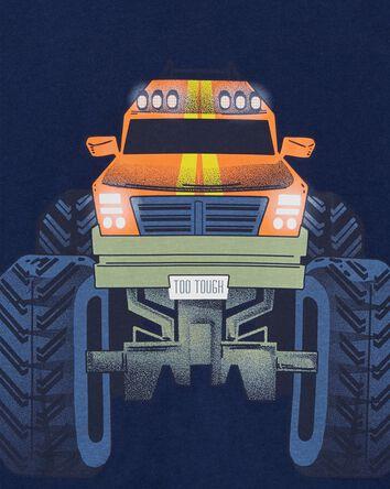 T-shirt en jersey avec camion monst...