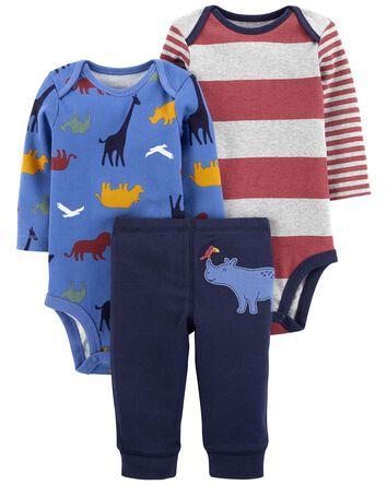 3-Piece Dinosaur Outfit Set