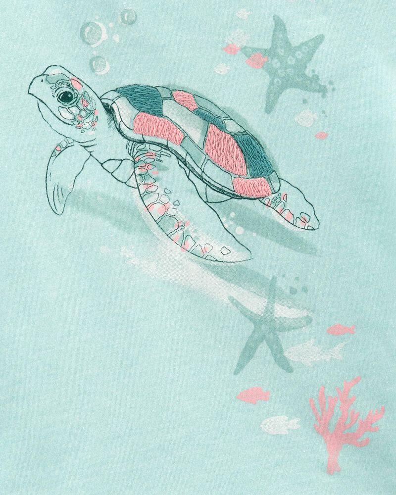 Sea Turtle Hi-Low Top, , hi-res