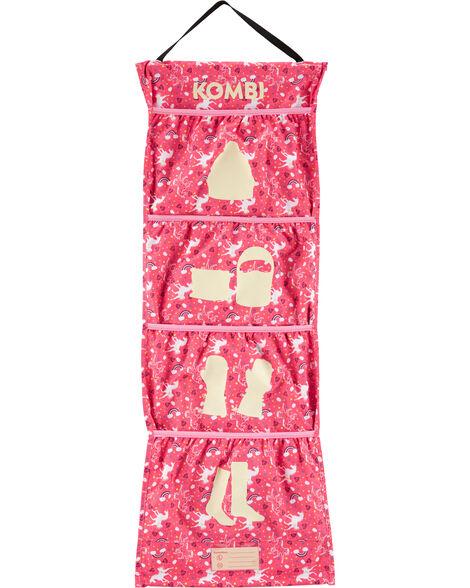 Rangement pour accessoires d'hiver licorne