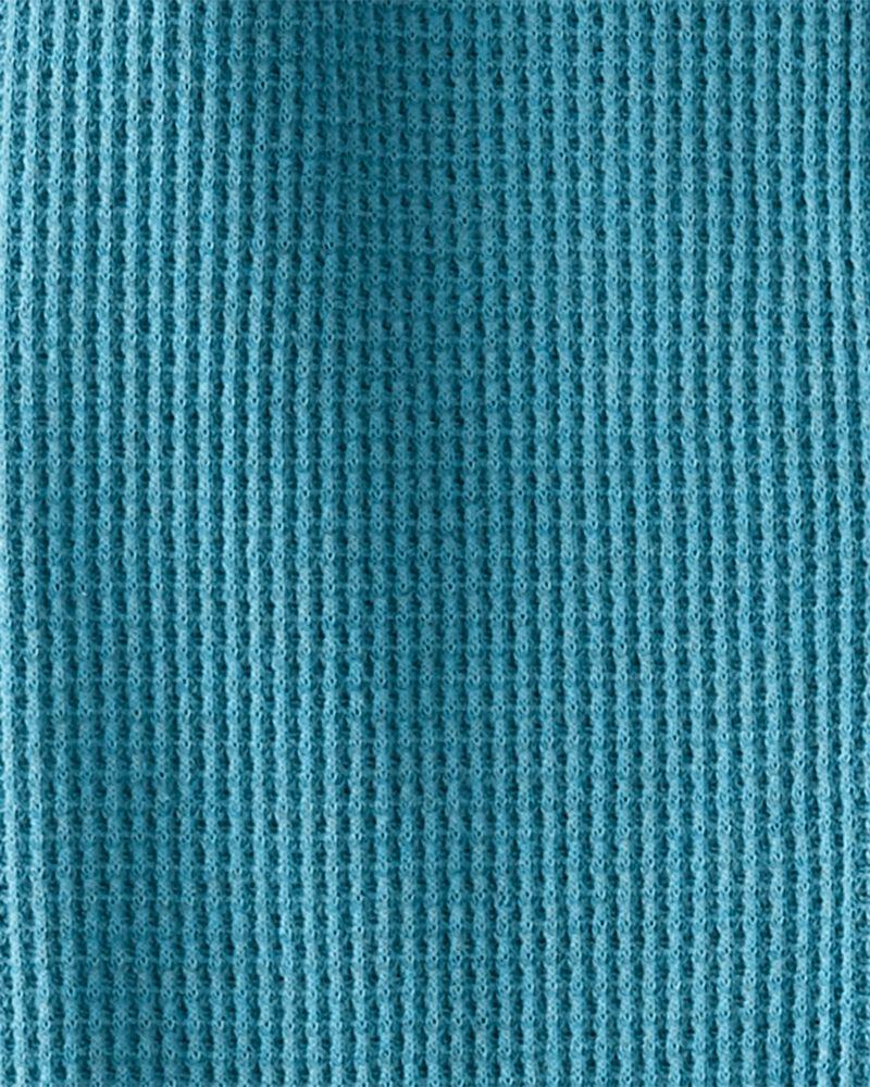 Thermal Organic Cotton 1-Piece PJs, , hi-res