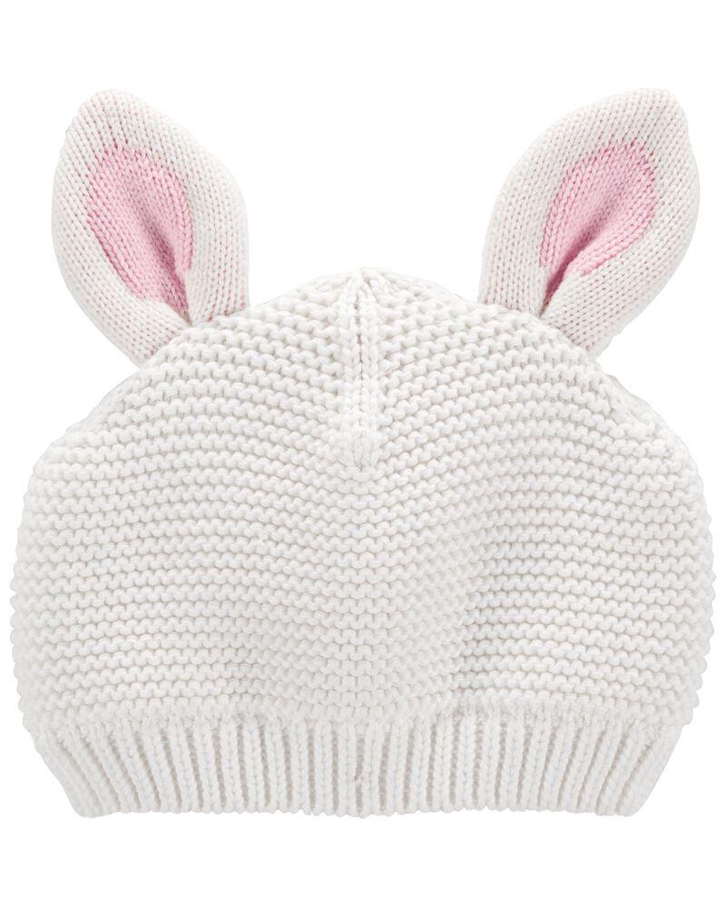Easter Bunny Knit Hat, , hi-res
