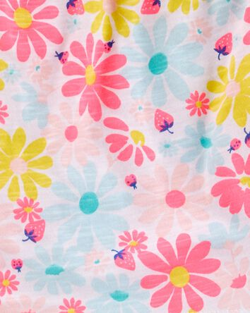 2-Piece Floral Ruffle Top & Legging...
