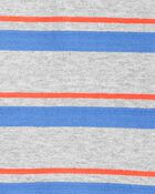 2-Piece Striped Polo Bodysuit Pant Set, , hi-res