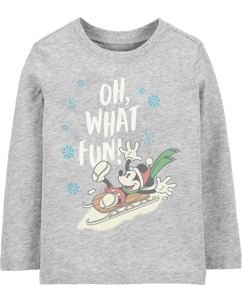 Holiday Mickey Mouse Tee, , hi-res