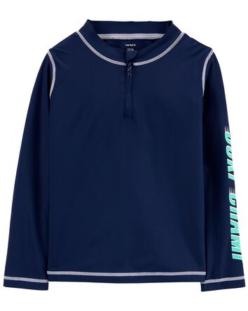 Zip-Up Rashguard