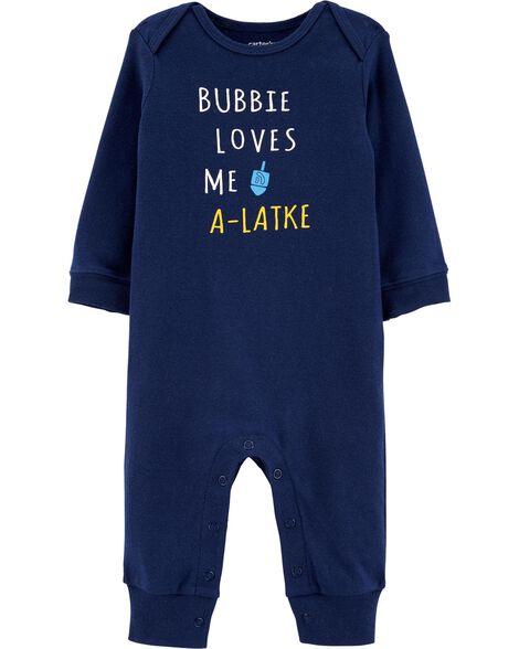 Bubbie Loves Me A-Latke Jumpsuit