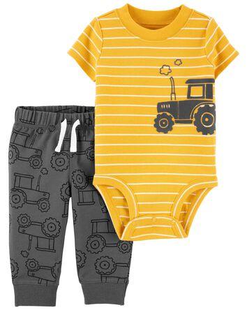 2-Piece Construction Bodysuit Pant...