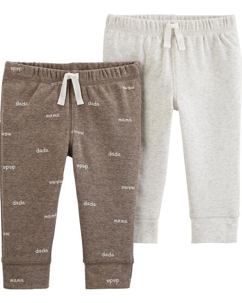 2-Pack Cotton & Poly Pants, , hi-res