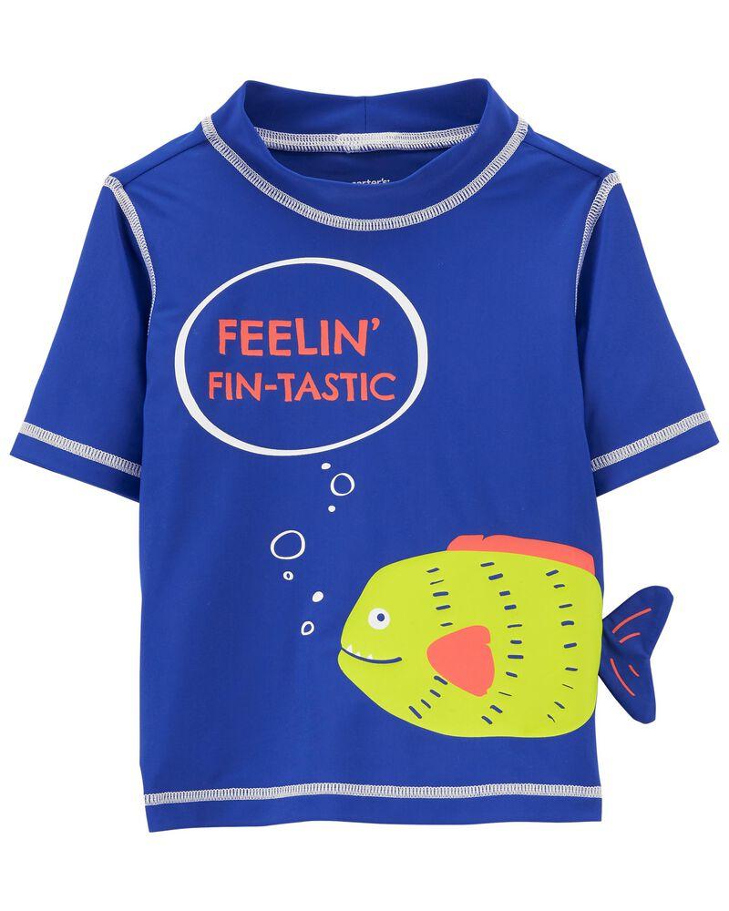 Fish Rashguard, , hi-res