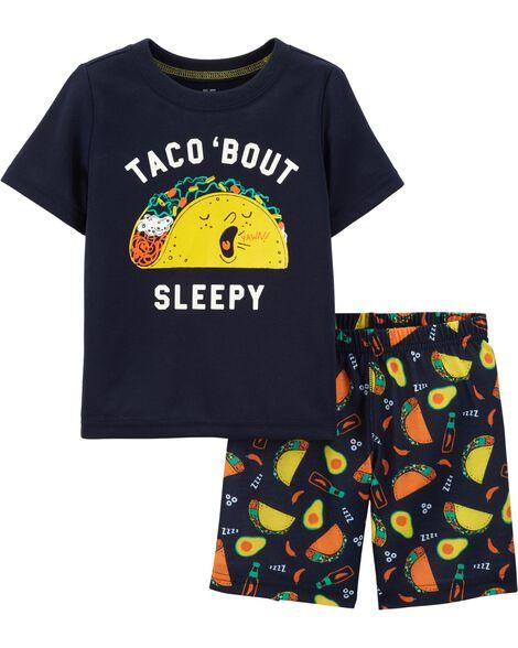 Pyjama 2 pièces à tacos