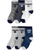 6-Pack Sports Crew Socks, , hi-res