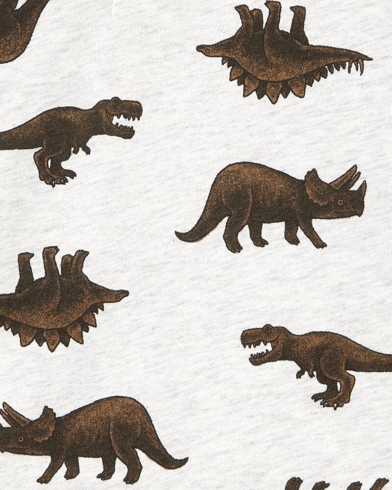 Dinosaur Henley Tee, , hi-res