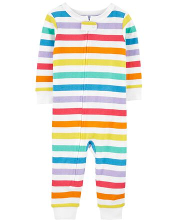 1-Piece Rainbow 100% Snug Fit Cotto...
