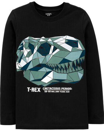 T-shirt à crâne de tyrannosaure