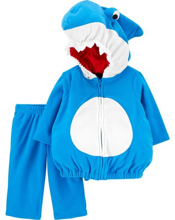Costume d'Halloween de p'tit requin