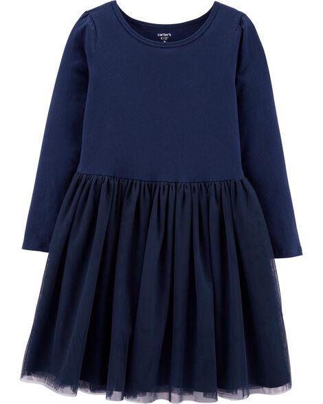 Tutu Jersey Dress