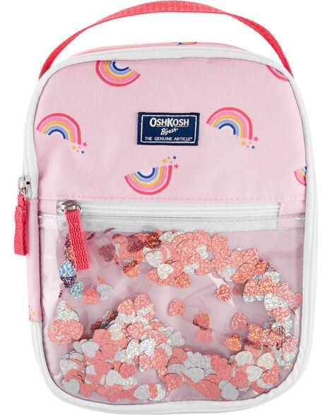OshKosh Rainbow Confetti Lunch Bag