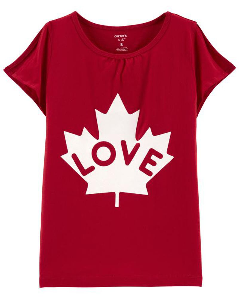 T-shirt Canada Day Love , , hi-res