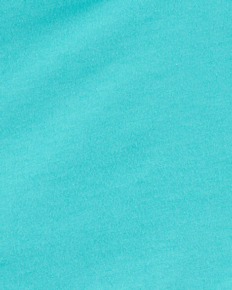 Tunique en tissu ajouré avec bordure à basque
