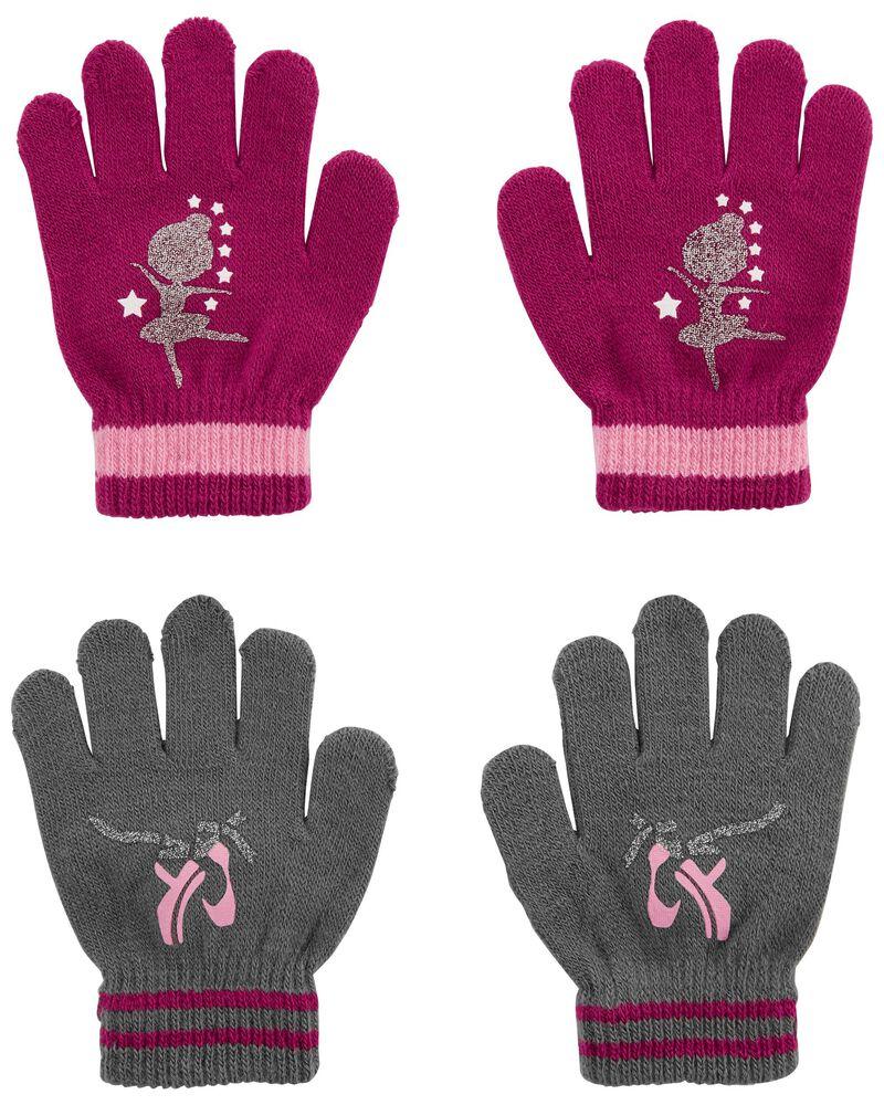 Emballage de 2 paires de mini gants ballet KOMBI, , hi-res