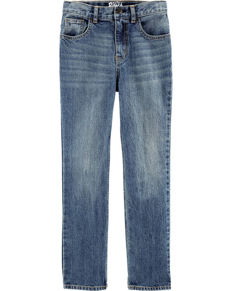 Classic Jeans - Tumbled Medium Faded