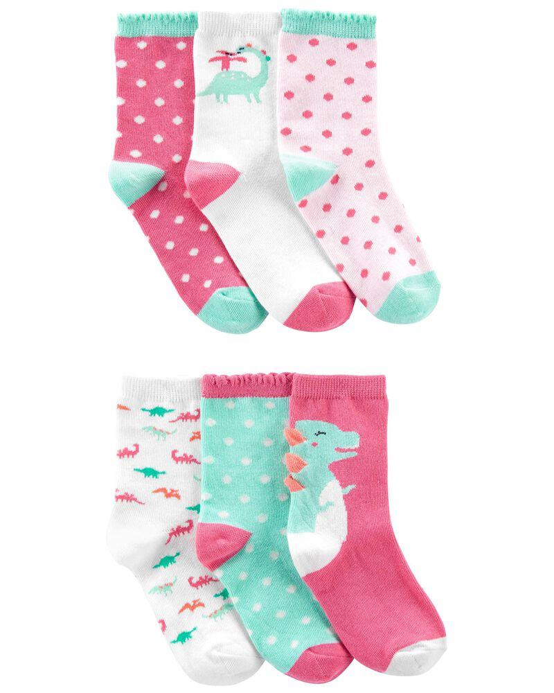 6-Pack Polka Dot Socks, , hi-res