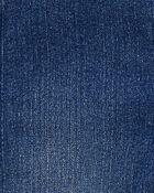 Knit Denim Heart Pocket Overalls, , hi-res