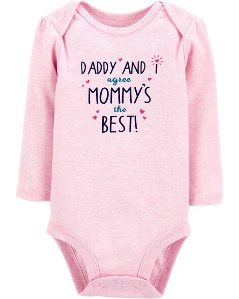 Mommy And Daddy Are The Best Bodysuit