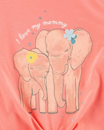 Elephant Jersey Tee