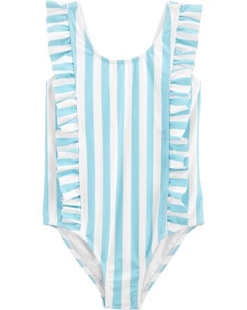 Ruffle 1-Piece Swimsuit
