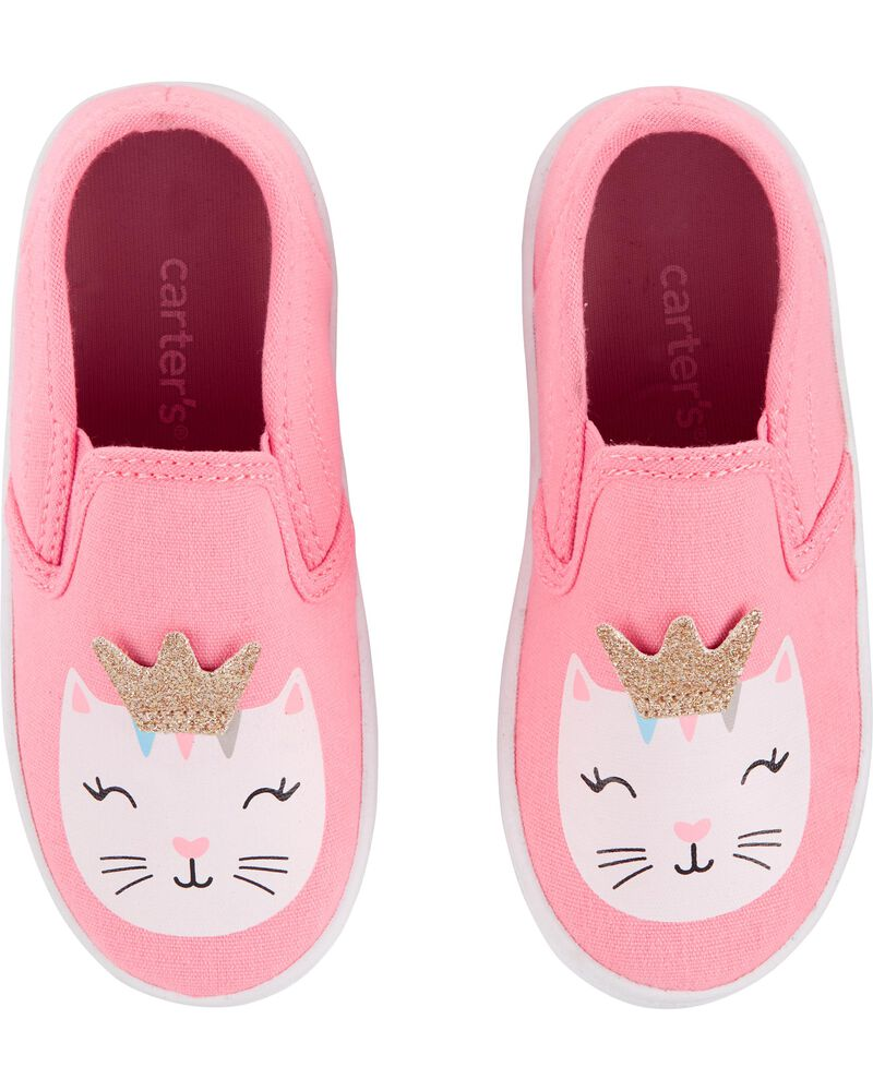 Glitter Cat Casual Sneakers, , hi-res