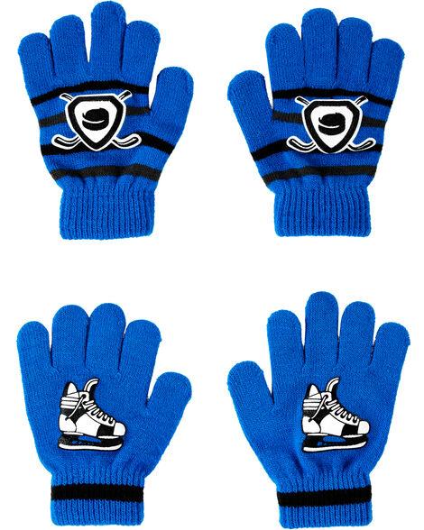 2-Pack Hockey Gripper Gloves