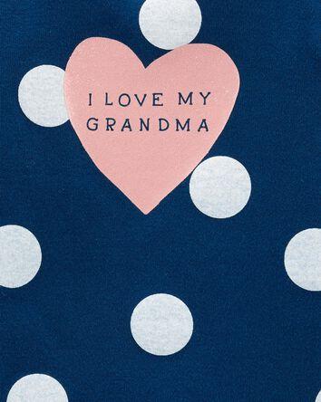 Cache-couche à imprimé Love My Gran...