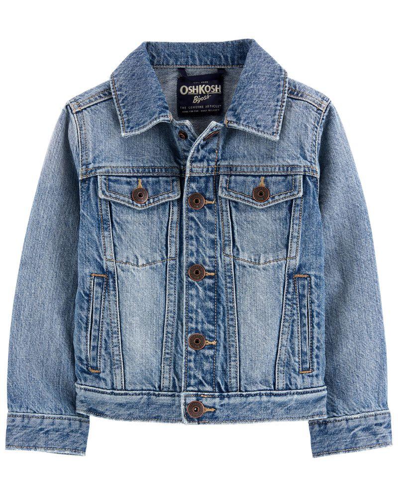 Classic Denim Jacket, , hi-res