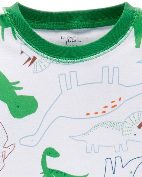 2-Piece Certified Organic Cotton Snug Fit PJs