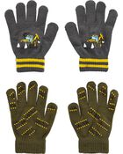 2 paires de gants agrippants motif construction Kombi , , hi-res