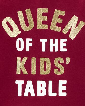 T-shirt en jersey Queen Of The Kid'...