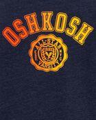 T-shirt de sport à logo dégradé, , hi-res