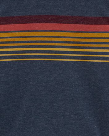 Stripe Jersey Hoodie