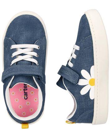 Daisy Chambray Sneakers