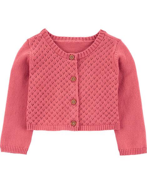Cardigan en tricot