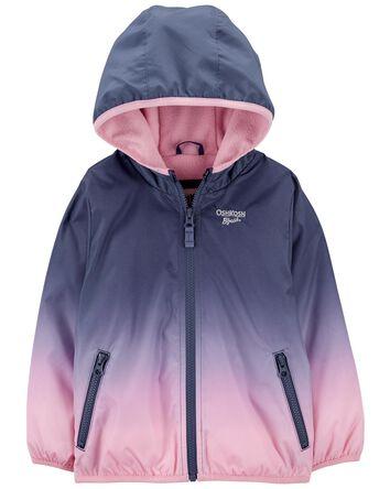 Fleece-Lined Ombre Jacket