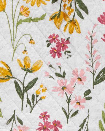 3-Piece Floral Vest Set