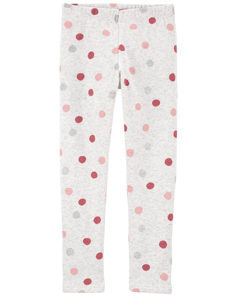 Polka Dot Cozy Leggings, , hi-res